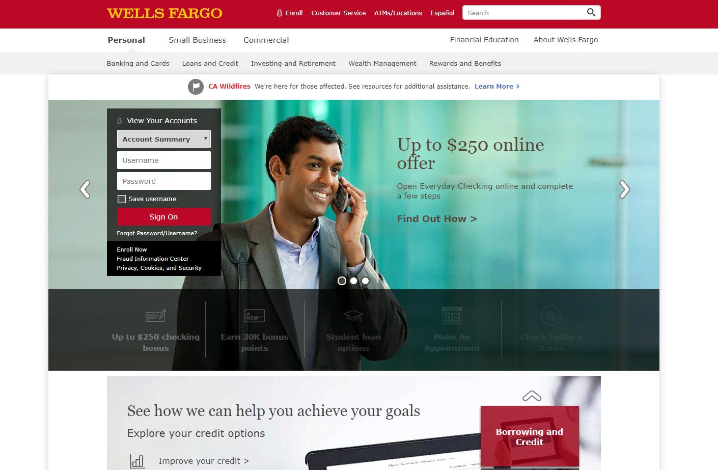 Wells Fargo Online Banking - Login - CardsLogin - banking